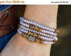 15 % Rabatt Wickelarmband, Perlenarmband, Silberarmband, Holz Perlenarmband, Crystal Armband, Halskette, Schichtung Armband, Boho sch