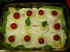 Oua umplute(golurile spaniei)