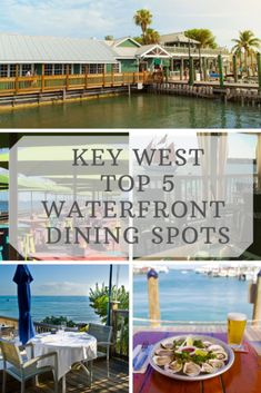 Key West Top 5 Waterfront Dining Spots - An Open Suitcase Visit Florida, Florida Vacation, Florida Travel, Florida Beaches, Key West Beaches, Key West Vacations, Dream Vacations, Key West Florida, Florida Keys