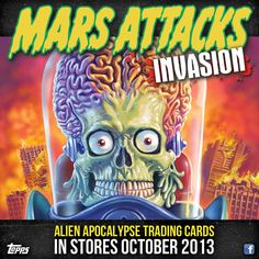 Mars Attacks Trading Cards