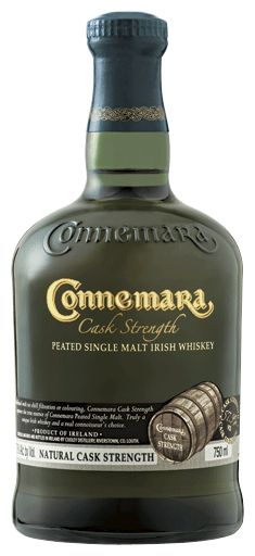 Cask strength Connemara Irish Whiskey