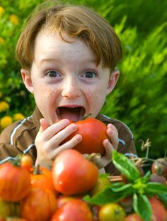 How eating organic improves your child's health
