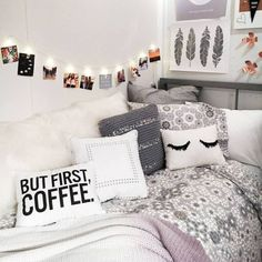 this cute dorm room is so amazing! | college | pinterest | dorm