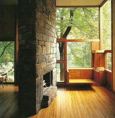 Luis Kahn Fischer house's
