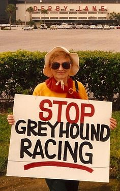 racing is violence whether dog or horse
