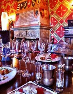 Royal Food and Wine Pairing tour led by our Castello sommelier, exclusively at Castello di Amorosa winery in Napa Valley