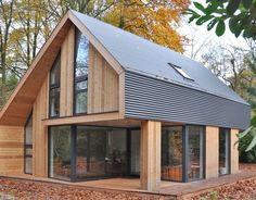 Erholungsheim # – # # # home – baustil Tiny House Design, Modern House Design, Sustainable Architecture, Architecture Design, Computer Architecture, Modern Barn House, Modern Wooden House, Design Exterior, Prefab Homes