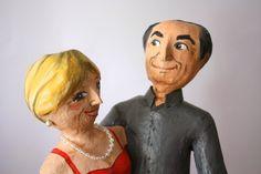 Amandadas Sculpture, Portrait, Gifts, Painting, Art, Fiestas, Paper, Personalized Gifts, Creativity