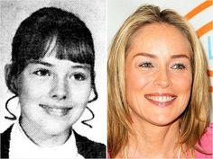 Sharon Stone Celebrity Yearbook Photos