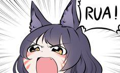 meo Fan Anime, Anime Meme, Anime Art, League Of Legends Comic, League Of Legends Characters, Chibi, Liga Legend, Ahri Lol, Lolis Neko
