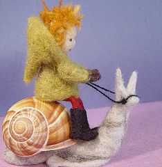 Well, I don't like Snails, but I like Faeries, and I love Shells! I can't imagine ho you harness a snail!