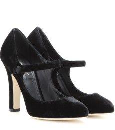 Dolce & Gabbana - Velvet pumps - mytheresa.com