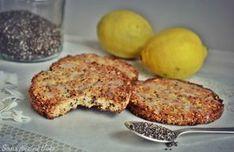 Biscuits légers sans farine, citron-amande-coco et chia (vegan, sans gluten)