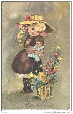 Postkaarten> Thema's> Wensen en Feesten> moederdag - Delcampe.net