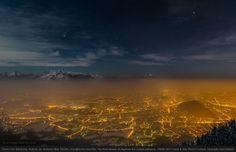 Espectaculares fotografías nocturnas de la Tierra y el cielo
