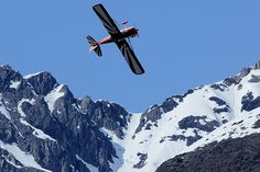 Scott Sexton performing aerobatics at the 2014 Valdez May Day Fly-In