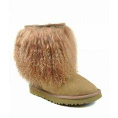 discount Ugg Boots, http://www.uggvipshop.net/, Women UGG Sheepskin Cuff 1875 Chestnut