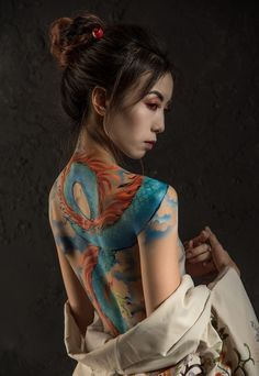 Waves and Water Japanese Phoenix Tattoo, Japanese Tattoo Artist, Japanese Snake Tattoo, Japanese Tattoo Designs, Japanese Dragon, Traditional Tattoo Art, Traditional Japanese Tattoos, Japanese Mythical Creatures, Melbourne Tattoo