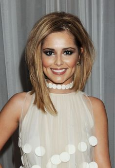 "Curly Asymmetrical Bob | Cheryl Cole ""has the perfect smile"" - Pictures, News and Music Videos ..."