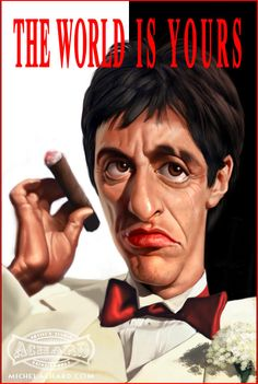 scarface caricature by ~MichelAchard on deviantART