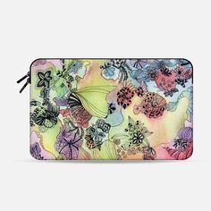 Check out this design on Casetify! Flower Doodles, Macbook Air 11, Best Laptops, Laptop Bags, Tech Accessories, Casetify, Zip Around Wallet, Cases, Sleeve