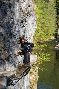 Río Hornad, en el Parque Nacional del Paraíso Eslovaco. Foto de Krzysztof Szaro.