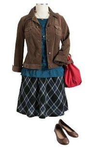 Plus Size Outfits Put Together | plus size outfit old navy skirt