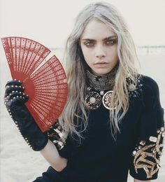 Cara Delevigne! She would look great in our shoes!