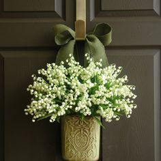 spring Easter wreaths lily of the valley by aniamelisa $94.00