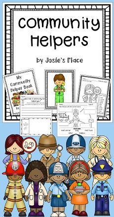 Community Helpers! Includes a reader, culminating activity book, labeling activities, printables and much more. Perfect for K-1!