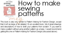 megan nielsen design diary: recommended reading: advanced sewing & pattern drafting