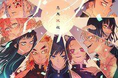HD wallpaper: Anime, Demon Slayer: Kimetsu no Yaiba, Giyuu Tomioka, Gyomei Himejima Manga Anime, Anime Demon, All Anime, Anime Art, Wallpaper Pc, Original Wallpaper, Wallpaper Backgrounds, Colorful Wallpaper, Demon Slayer