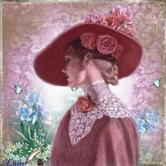 Lady in Pink - Sue Halstenberg