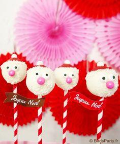 santa cake pops #candyland