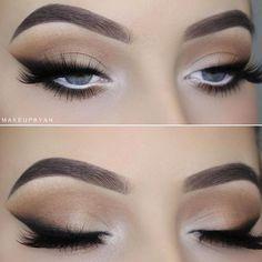 Smokey eye look created by @makeupbyan using the Bronze Palette ❤ #Kyshadows  ___________________________________ I used the @kyliecosmetics The bronze eyeshadow palette  • I used the shades: Jasper, Citrine, Topaz, Tiger eye, Hematite, Bronzite and Obsidian •
