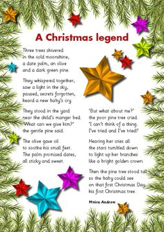 1000+ images about Meaning of Christmas @Poems on ...