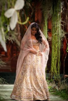 Like the styling, not the lehenga as such