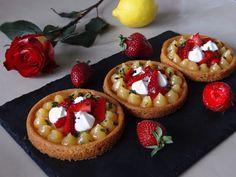 Tartelettes fraise citron Adline Cuisine