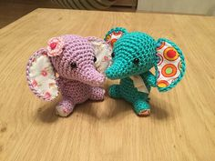Ravelry: Tiny luck elephant pattern by Mari-Liis Lille  €4.00.