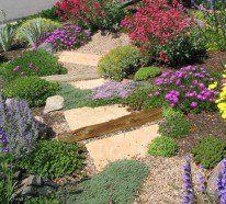 Garten Am Hang Anlegen   Zum Beispiel Durch Beet Terrassen. Das Ist In Der