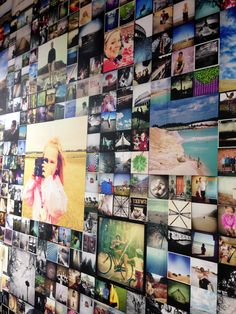 wall of photographs - Google Search