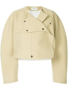 Shop women's designer bolero jackets online now at Farfetch. Find stylish cropped jackets from top brand names at elite boutiques Brown Jacket, Jackets Online, Chef Jackets, Outerwear Jackets, Designing Women, Leather Jacket, Shirt Dress, Stylish, Cropped Jackets