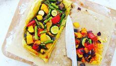 Tarta de verduras asadas: receta light Vegetable Tart, Recetas Light, Roasted Vegetables, Ethnic Recipes, 3, Food, Kid Cooking, Cooking Recipes, Eating Clean