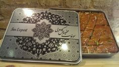 باقلوا # Envios a Toda España y Portugal Sheet Pan, Pastries, Persian, Portugal, Packaging, Food, Products, Springform Pan, Tarts
