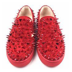 Summer Men Black Spiked Gentleman Luxury Fashion Loafers