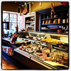 Salumeria Luca in Carmel is a charming Italian delicatessen.  There are lots of options from cold to hot sandwiches and small plates to take on the beach for a picnic!
