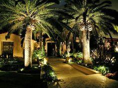 Gorgeous outdoor lighting plan Landscape Design and Construction- Capital Landscape