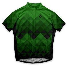 Twin Six The Climber Green retro cycling jersey Bike Wear 34654c9c1