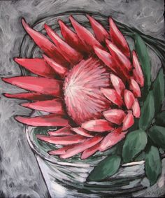 Roses on chair Acrylics on canvas cm ​Available Protea Art, Protea Flower, Stella Art, List Of Paintings, Beautiful Flower Drawings, Gouache Painting, Painting Lessons, Canvas Art, Painting Canvas