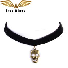 Skull Choker Necklace made in Black Velvet    US $8.95 & Free Shipping    Get it here ---> https://chokermania.com/skull-choker-necklace-made-in-black-velvet/    #choker #chokermania #chokeroutfit #chokernecklace #girlboss #fashion #fashiongirls  #trendychokers #fashionjewelry